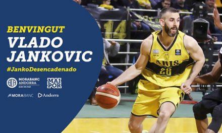 El MoraBanc Andorra llega a un acuerdo con el alero Vlado Jankovic