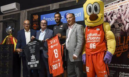 """Diot: """"Me reconozco en los valores del Valencia Basket"""""""