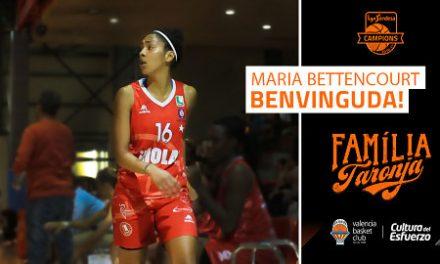 Valencia Basket incorpora a la base-escolta portuguesa Maria Bettencourt