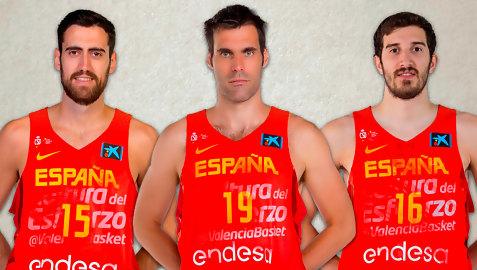 Triplete histórico del Valencia Basket en la selección española