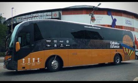 Nuevo autobús taronja con Autocares Rios Levante