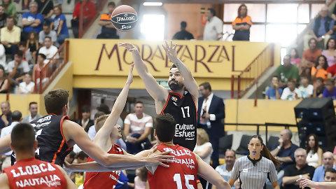 Valencia Basket se estrena en Moralzarzal con un recital ofensivo (78-85)