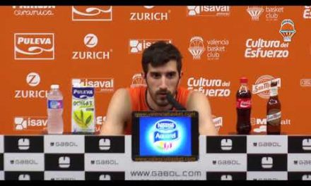 Guillem Vives pre Semifinal Supercopa vs Unicaja