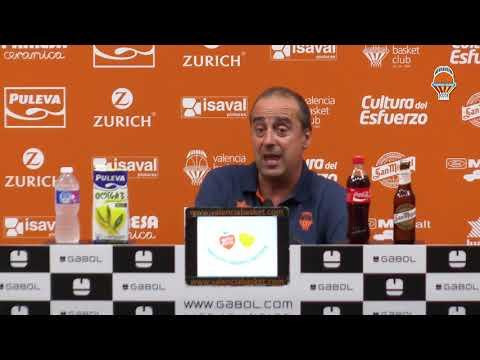 Txus Vidorreta pre Semifinal Supercopa vs Unicaja