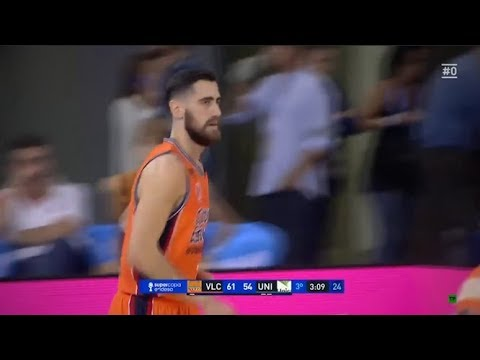 Mate Sastre vs Unicaja Semifinal Supercopa Endesa