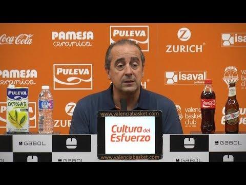 Txus Vidorreta pre J1 Liga Endesa en Real Betis Energía Plus