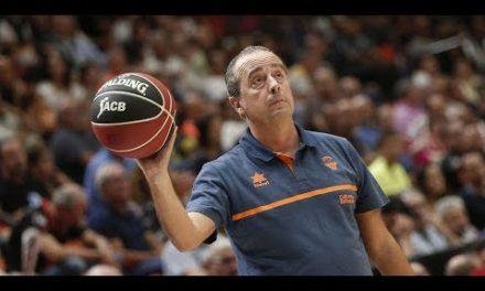 Txus Vidorreta post Trofeu Ciutat de València vs Morabanc Andorra