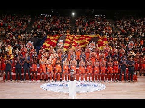Presentación Valencia Basket Club 2017-2018