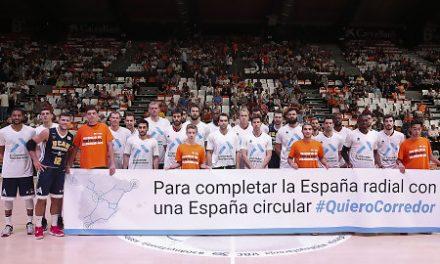 El UCAM Murcia–Valencia Basket estará dedicado al Corredor del Mediterráneo