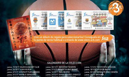 Colecciona los décimos de Lotería Nacional de los clubes de la Liga Endesa