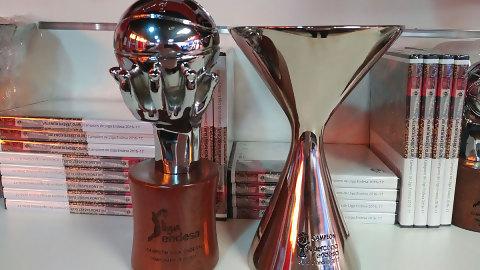 A la venta las réplicas de los trofeos de Liga y Supercopa Endesa