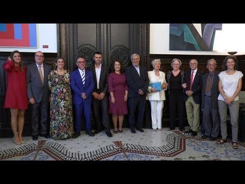Valencia Basket recibe la Medalla de Oro de València