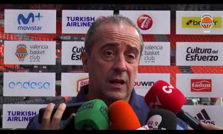 Txus Vidorreta pre J3 Turkish Airlines Euroleague en Baskonia