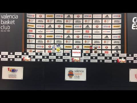 Press conference vs Unicaja W4 Turkish Airlines Euroleague