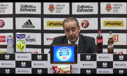 Txus Vidorreta pos J4 Turkish Airlines Euroleague vs Unicaja