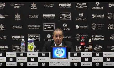 Txus Vidorreta pos J6 Liga Endesa vs Herbalife Gran Canaria