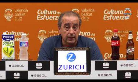Txus Vidorreta pre J2 Liga Endesa vs Monbus Obradoiro