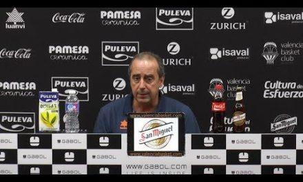 Txus Vidorreta pre J3 Liga Endesa en Iberostar Tenerife