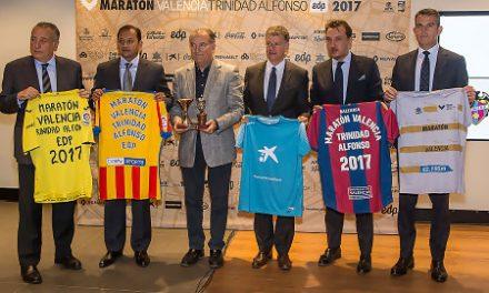 Valencia Basket, presente en el hermanamiento del Maratón Valencia