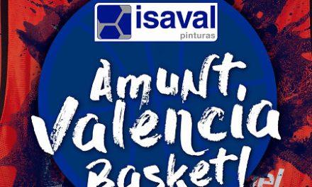 Pinturas Isaval le da color al partido de Valencia BC ante el Olimpia Milan