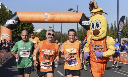 Valencia Basket da color a un Maratón Trinidad Alfonso EDP 2017 de récord