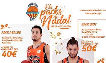 Los packs navideños llegan a la Tienda Oficial del Valencia Basket
