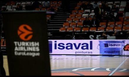 Pinturas Isaval en J7 Euroliga vs AX Armani Olimpia Milán