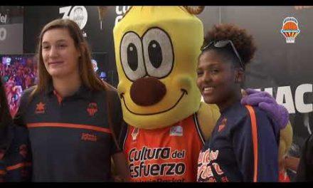 El equipo de LF2 visita la Feria del Corredor de la Maratón Valencia Trinidad Alfonso EDP 2017