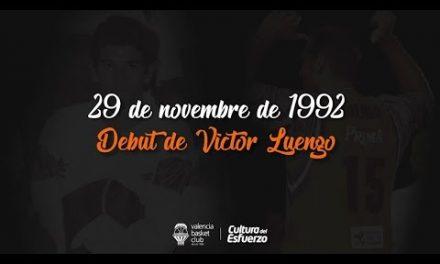 25 años del debut de Víctor Luengo