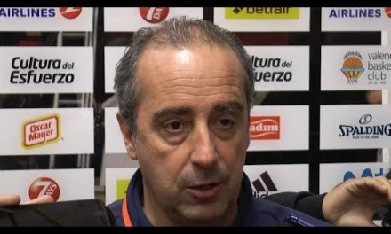 Txus Vidorreta pre J10 Turkish Airlines Euroleague vs Olympiacos