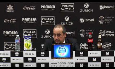 Txus Vidorreta pos J7 Liga Endesa vs San Pablo Burgos