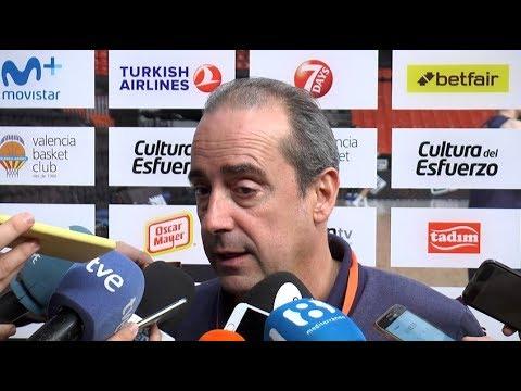 Txus Vidorreta pre J7 Euroliga vs AX Armani Milán