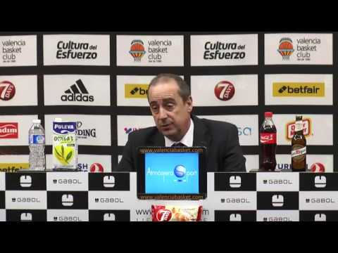 Txus Vidorreta pos J7 TA Euroleague vs AX Olimpia Milán