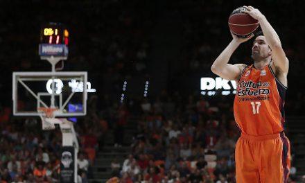 Valencia Basket cierra 2017 con dos partidos en la Fonteta