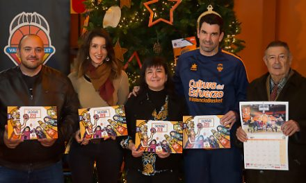 Presentado el Calendario Solidario 2018 del Valencia Basket