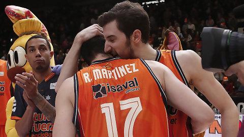 Rafa Martínez ahuyenta los fantasmas de un mejorado Valencia Basket (86-64)