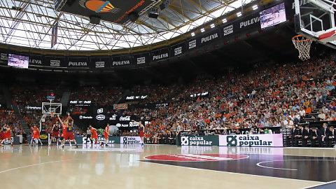 Caixa Popular animará el partido del Valencia BC en Euroliga
