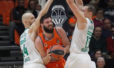 Valencia Basket sufre ante Zalgiris su décima derrota (63-71)