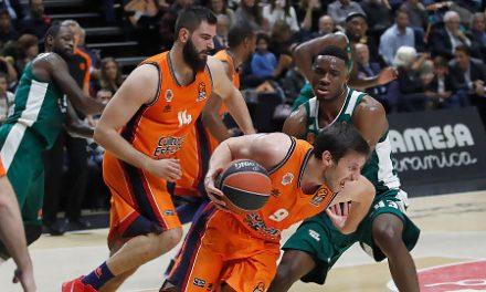 Valencia Basket rompe su mala racha en circunstancias más adversas (67-63)