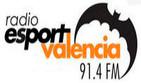 El Nostre Partit Valencia Basket 64 – Olympiacos 72 y Valencia CF 4 – Zaragoza 1 30-11-2017 en Radio Esport Valencia