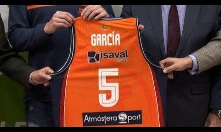 Presentación de Sergi García como nuevo jugador taronja