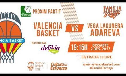 Promo Valencia Basket LF2 – Vega Lagunera Adareva