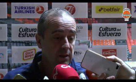 Txus Vidorreta pre J13 Liga Endesa en Real Madrid
