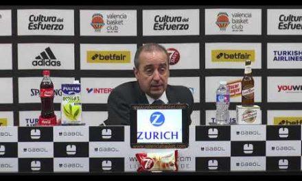 Txus Vidorreta pos J14 Euroliga vs Zalgiris Kaunas