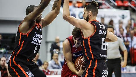Valencia Basket y Tecnyconta Zaragoza: recuerdos de la Fonteta