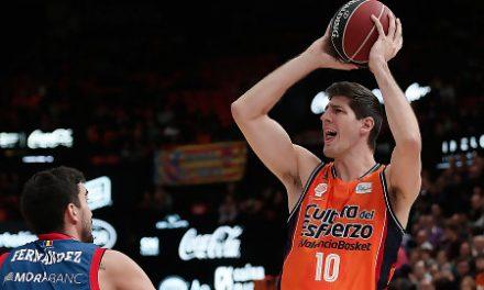 Damjan Rudez acaba contrato y queda desvinculado de Valencia Basket