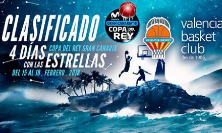 El Valencia Basket se clasifica matemáticamente para la Copa del Rey