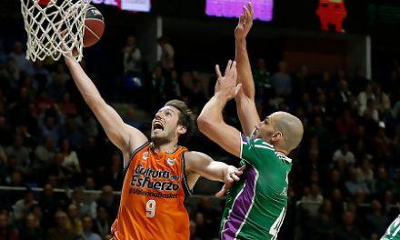 Unicaja y Valencia Basket se reencuentran en Euroliga 48 horas después