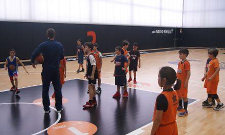 Una Escola de Nadal de récord en L'Alqueria del Basket