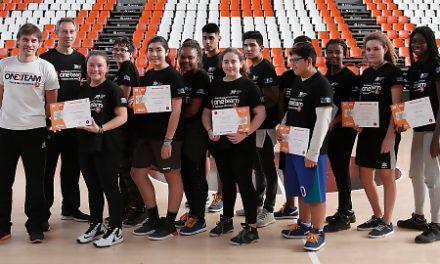 Valencia Basket repite alianza con Cáritas para su 6º proyecto 'One Team'